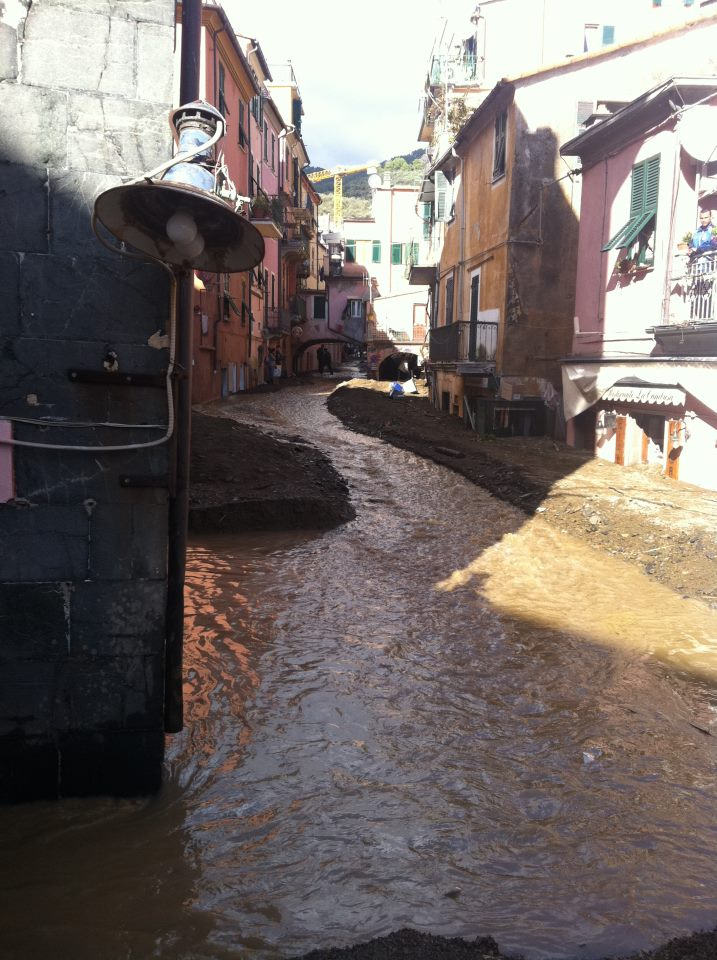 Flooding in the Cinque Terre