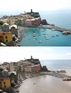 Cinque Terre, Vernazza Flooding:  Before and after photos and videos