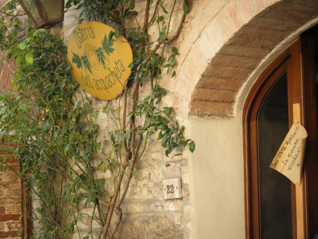 Osteria dell'Aquachette