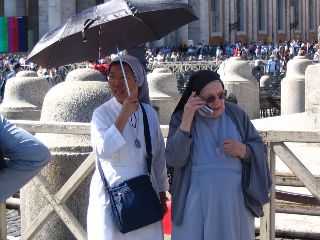 Nuns in italy