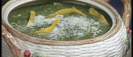 Zuppa di Zucca e Spinaci – Squash and Spinach Soup