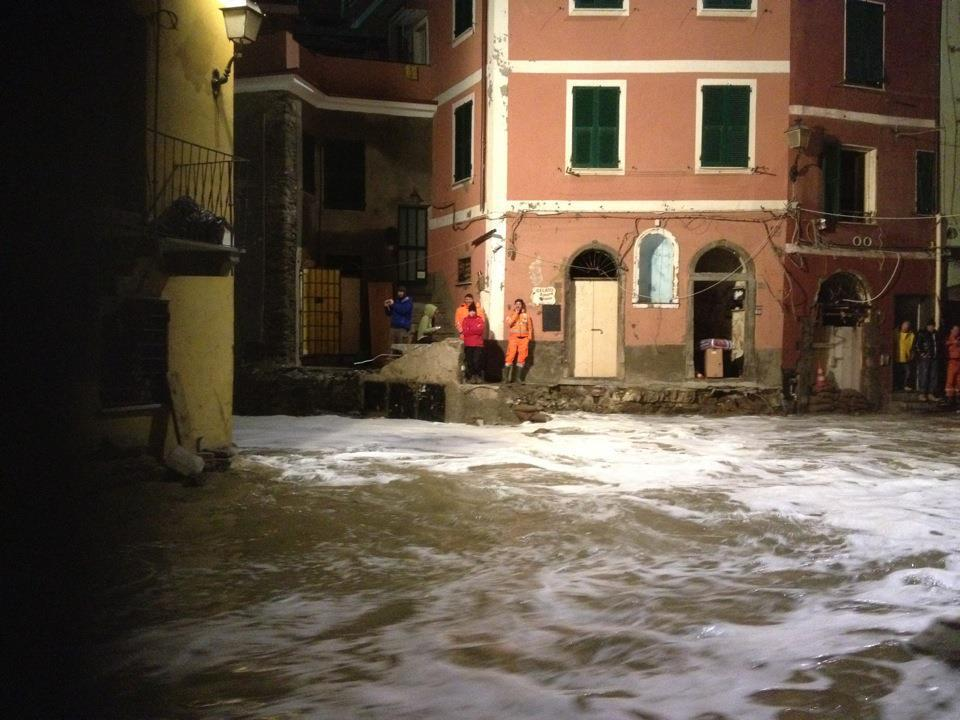 Cinque Terre Update – Winter Storms Hit Vernazza