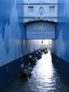 Venice – Bridge of Sighs restoration done at last.