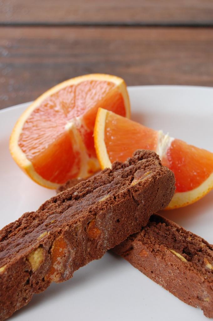 Candied orange chocolate