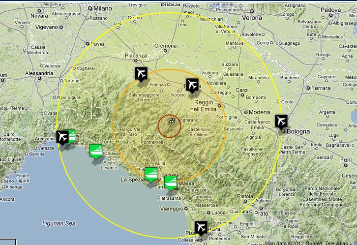 Earthquake hits Cinque Terre in Italy Italy Travel Planner