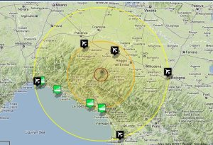 Earthquake hits Cinque Terre in Italy