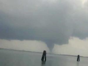 Tornado Rips Across Venice Italy