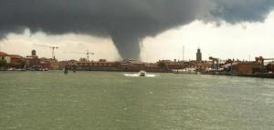More Images of Tornado in Venice Today