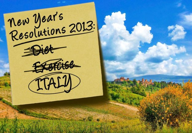 2013 resolution italy travel