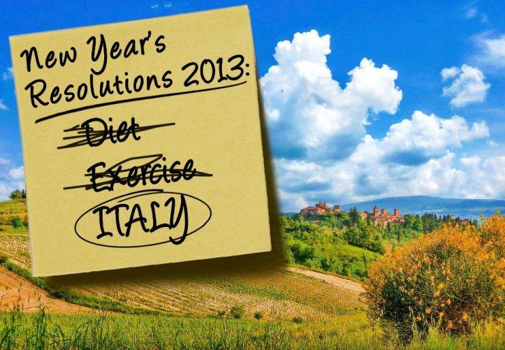 2013 resolution italy travel