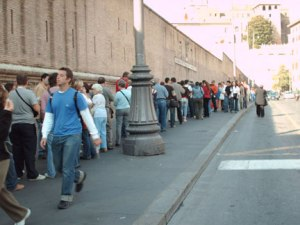 long lines vatican money laundering