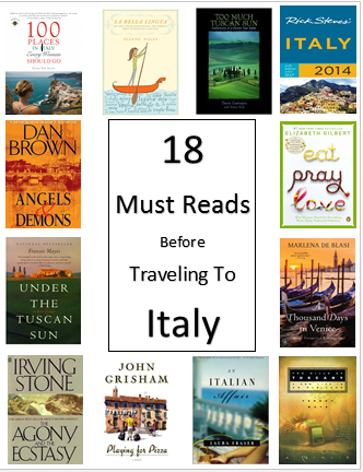 italy travel reading book list
