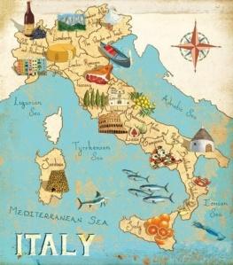 Italian-Map